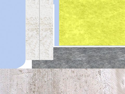 IVI-Metaalregel montage detail